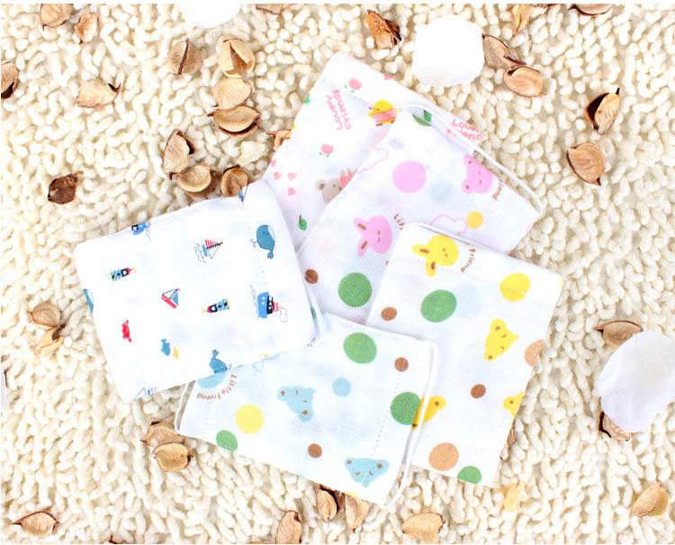 Yeehoo Bean baby health God mask lovely printed cotton gauze a collective name for cotton dust masks for fall/winter 2 Pack
