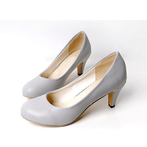 туфли Малый размер обуви 31 корейской версии что 32 удобрений 33 пригородных карьеры высокие каблуки большой размер Женская обувь с круглой головы ol4041 43 Осенняя обувь