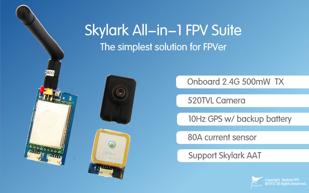 skylark all in 1 fpv suite the simplest solution for fpver