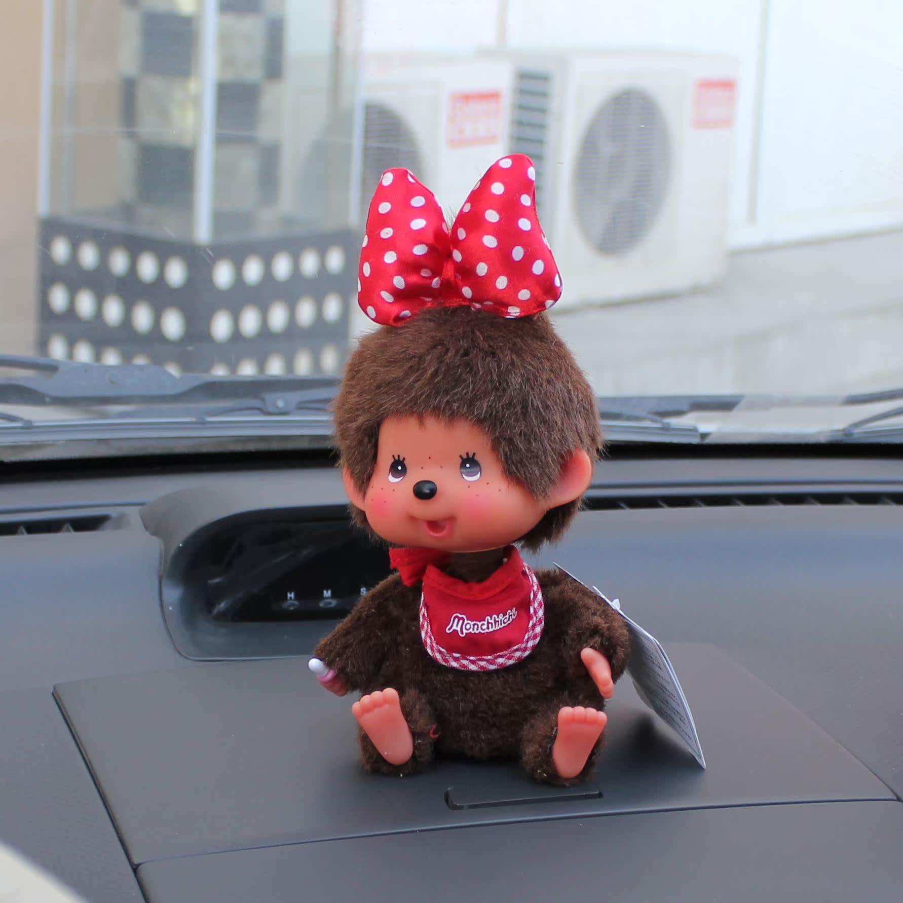 Украшение для автомобиля Купить monchhichi auto головы куклы украшения украшения автомобиля украшение поставок автомобилей автолюбителей Кукла Украшение