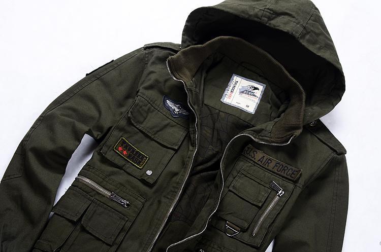 Купить Куртку В Стиле Милитари Мужскую