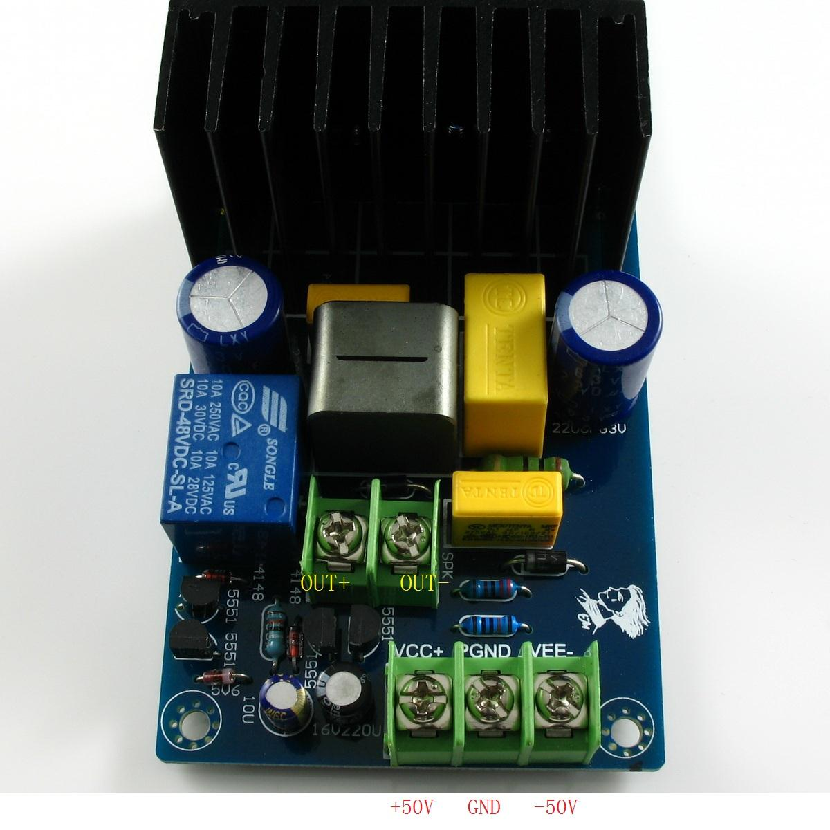 Irs2092 Irfb4019 Class D Power Amplifier Board Relay Protection 300w Kit Stereo Audio Ti Tpa3123 Circuit Ebay