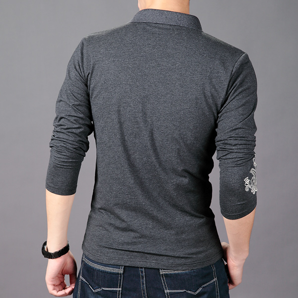 Cococ Cocoa West men's fall 2013 new style long sleeve T tide men's long sleeve shirts men T compassionate man t pension T209