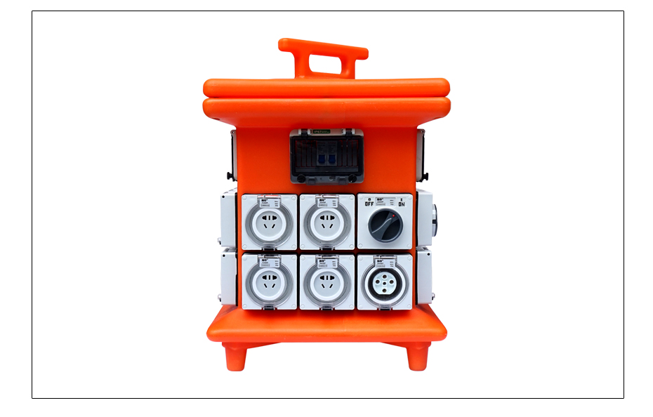 指印防水插座电源箱_02