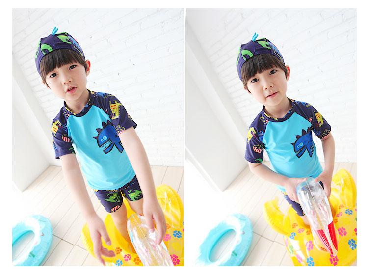 儿童 可爱/宜肤 儿童泳衣裤泳镜泳帽鼻夹耳塞六件套装备...