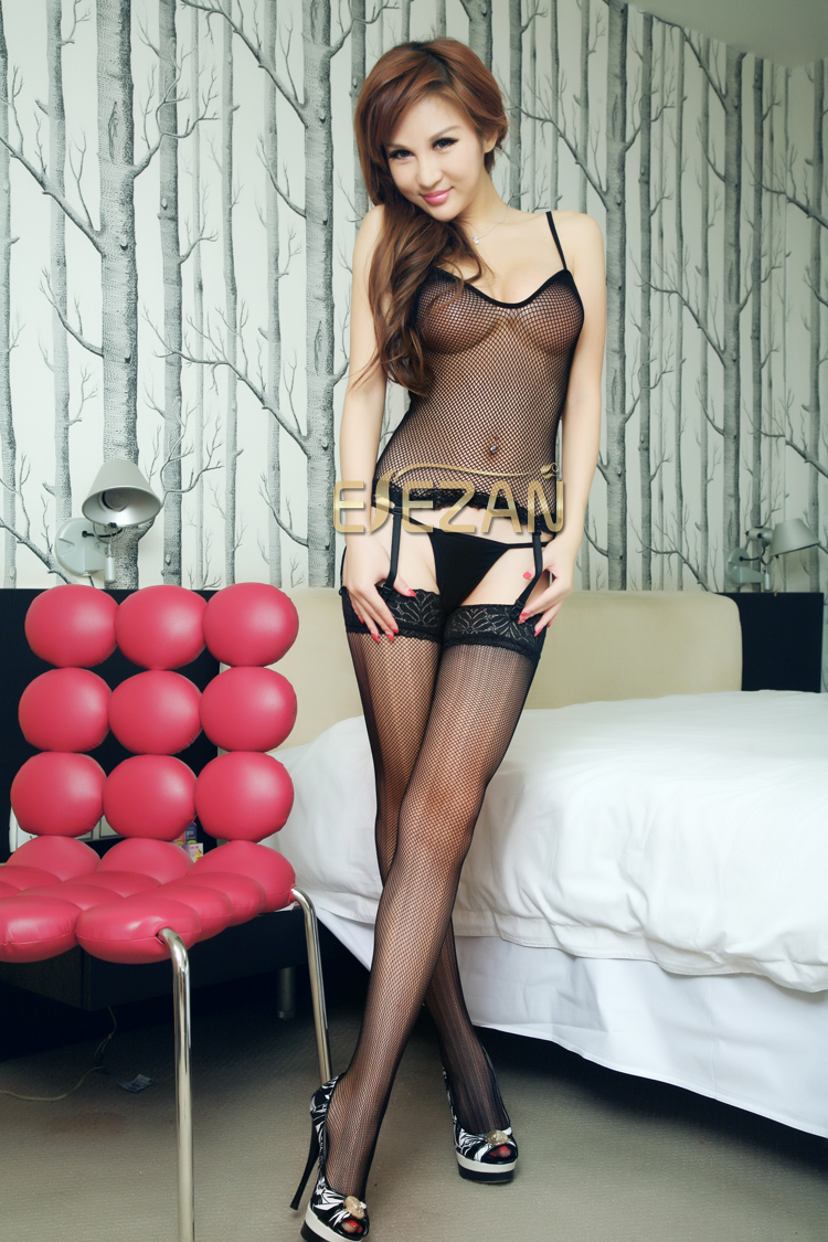 Veegol-HG Lace Soft Temptation Suspenders Economic Women Sexy Body Stockings