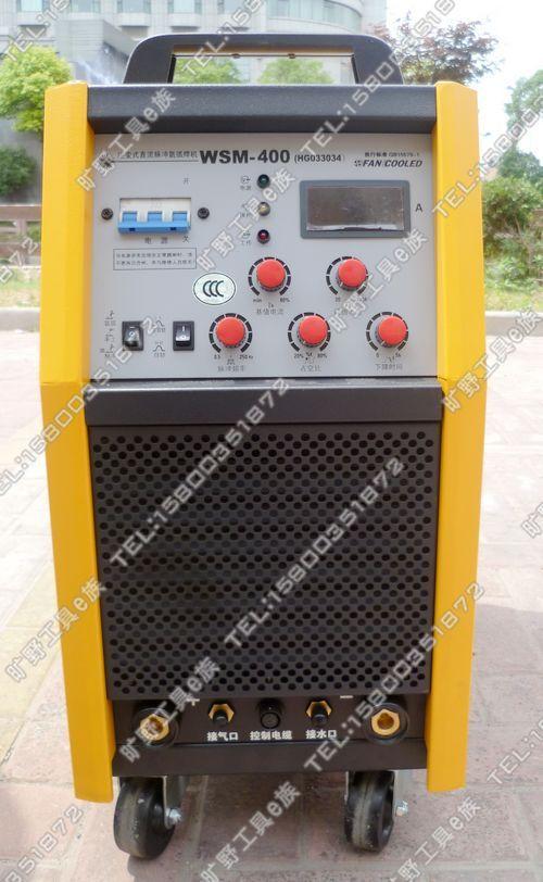 上海沪工WSM-400电焊机家用逆变式直流脉冲氩弧焊机两用数