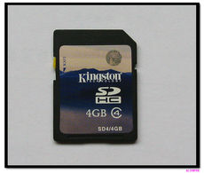 SD Card Kingston 4GB SD SDHC