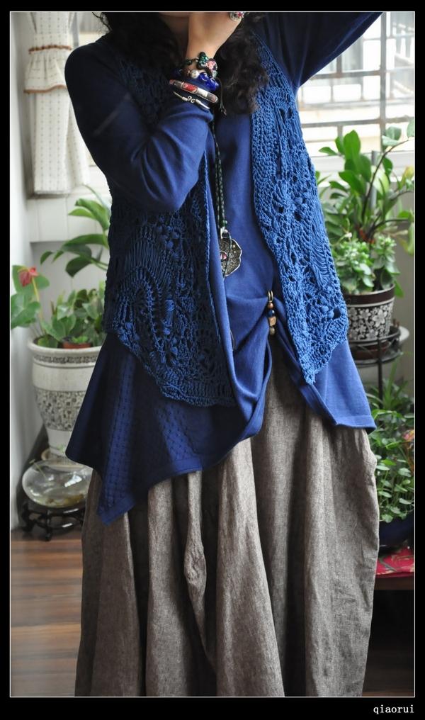 蕊.rui原创设计~雨蝶 - 快乐编织吧 - 快乐编织吧