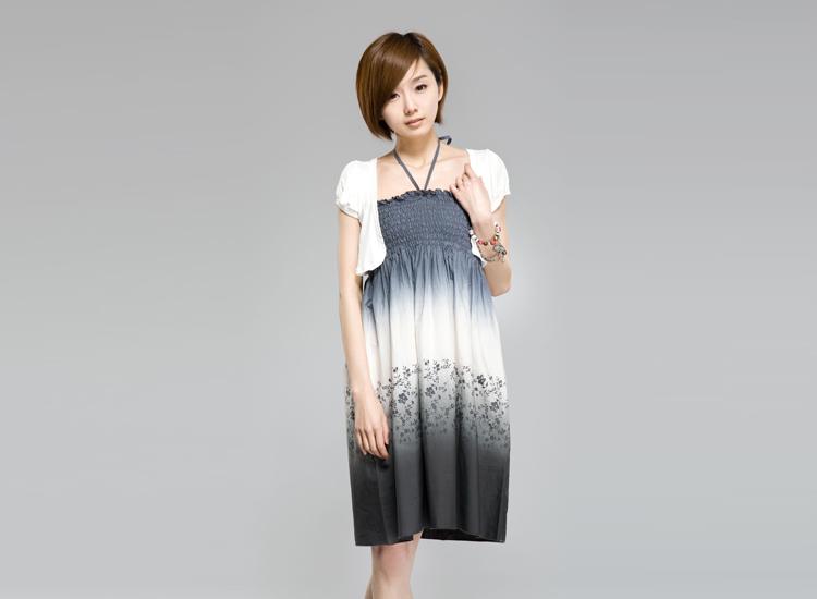 圣迪奥专柜正品 女装 夏款可爱风泡泡袖针织小坎肩 8280160