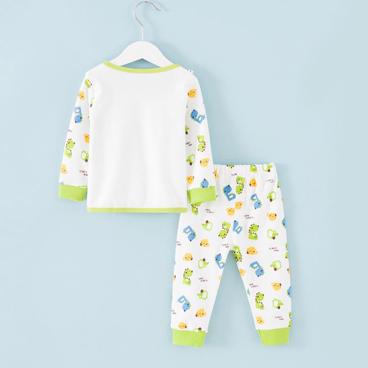 婴儿童装内衣套装纯棉2男7女童8宝宝5春秋冬衣服6睡衣0 1岁3个月
