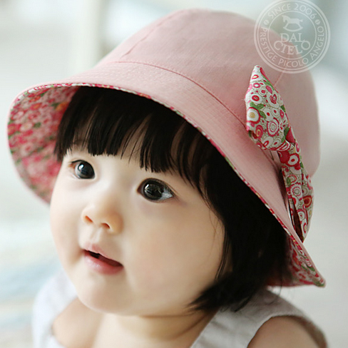 Howuay Korean version of Korean children baby hair accessories ribbon bow baby accessories flowers lovely princess headband