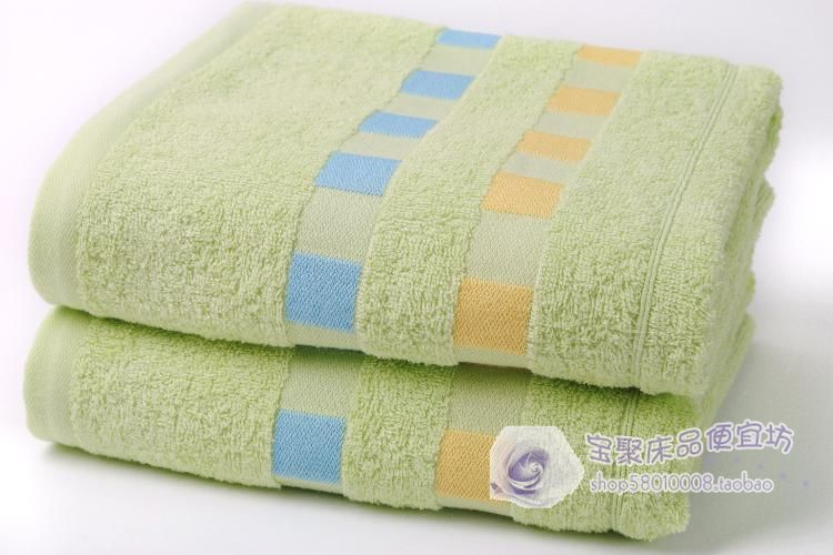 Cotton dobby diconnect cotton bath towel