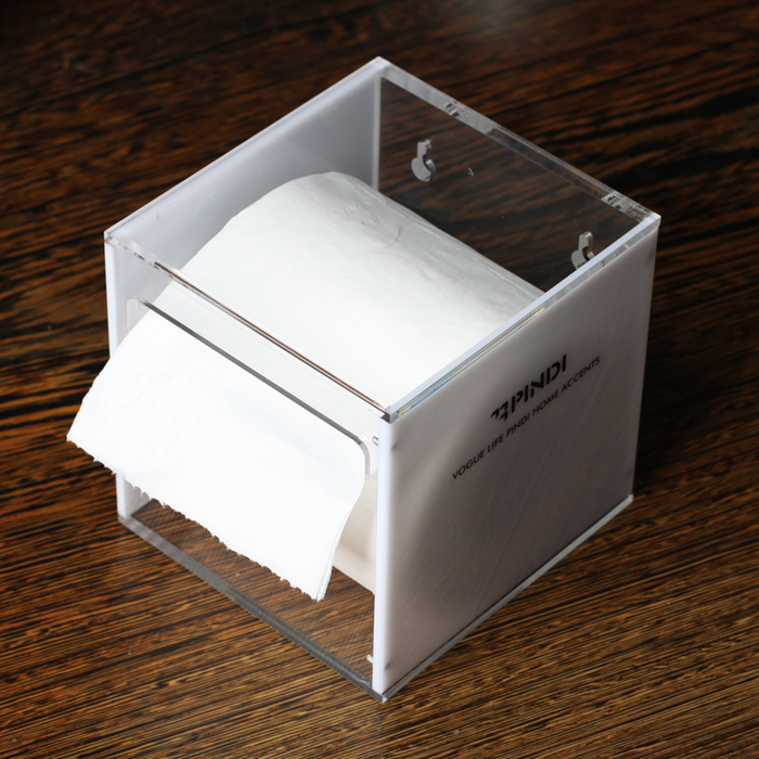 Pamdhi Asian gram force classic creative tissue box holder new series square cylinders on sale white