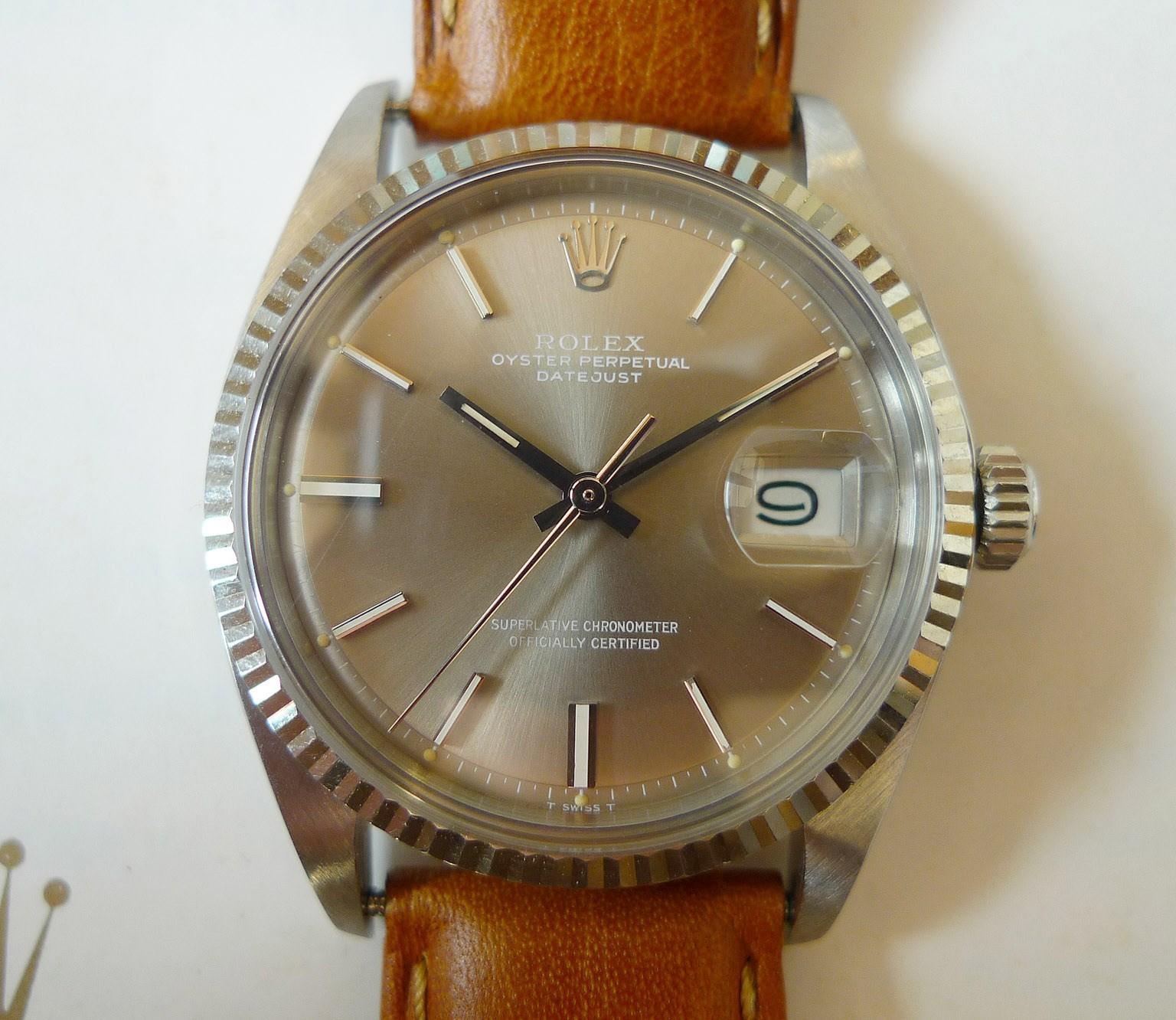 Винтажные наручные часы Винтажные Rolex Rolex 1601 кофе слабый gray-(fixed)