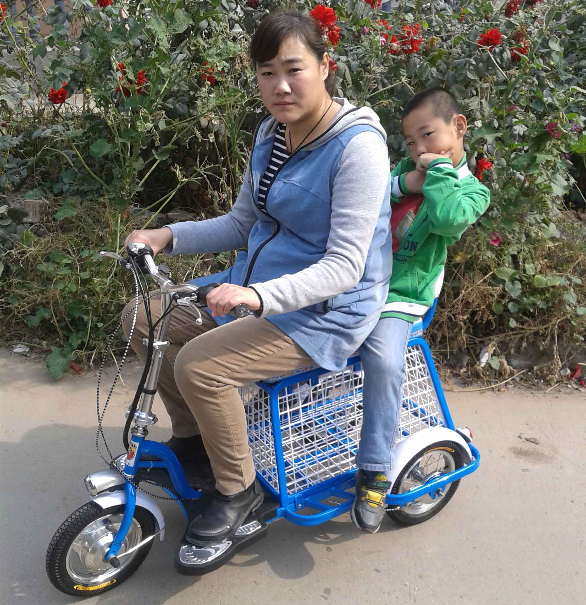 Трехколесный велосипед Qisite