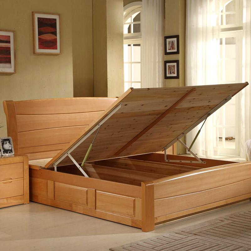 Кровать из массива дерева Rai  1.5 1.8