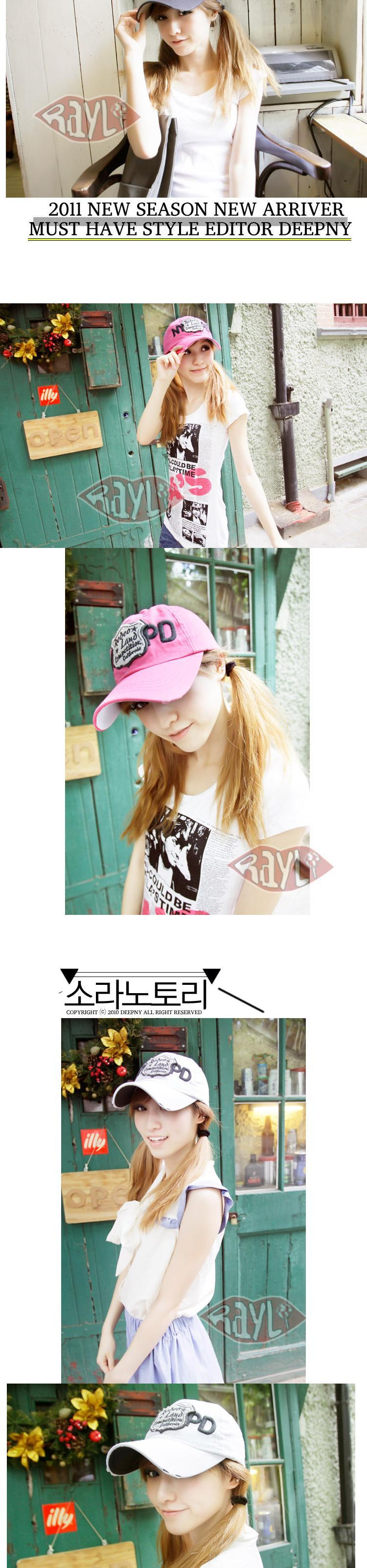 RAYLI new NYPD Korean baseball caps in the summer common couple Cap edging tide hats for men and women K1040
