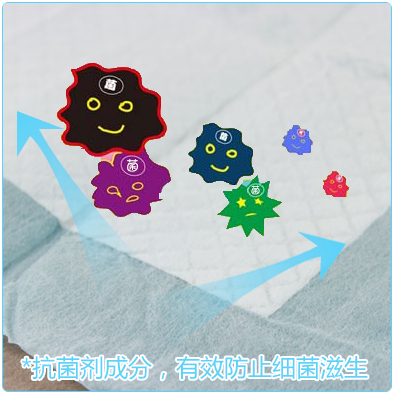 New Pet Pet dog diapers 60 * 45cm 50 tablets dog toilet dog diaper changing mat diapers tuba