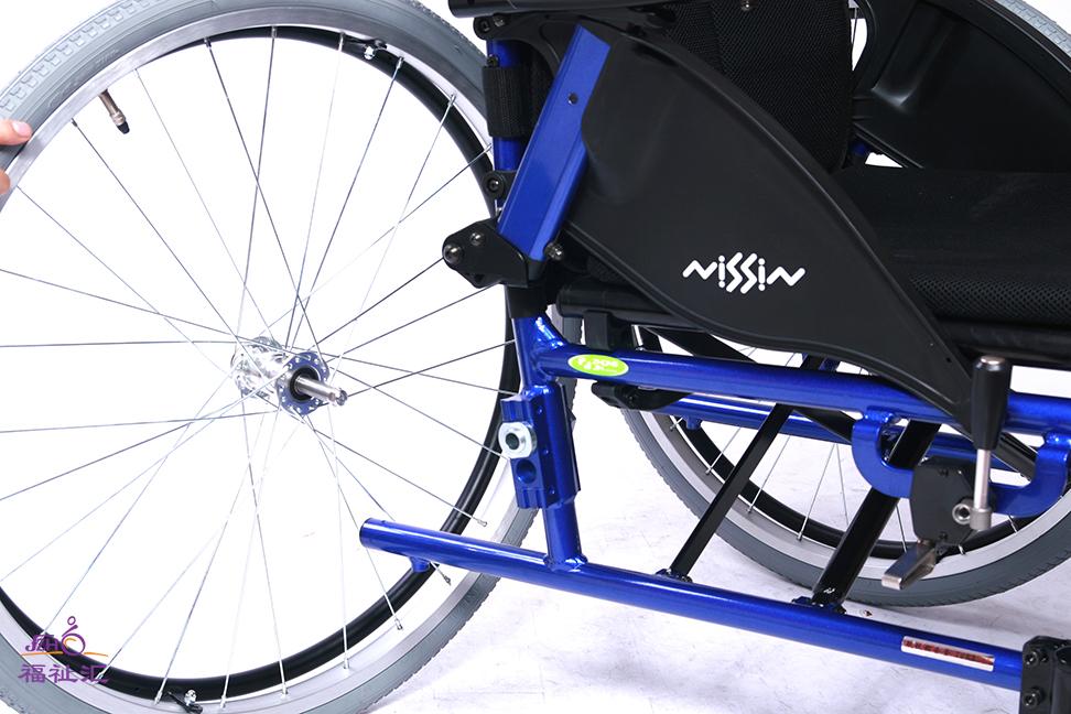 日进 NISSIN IS 个性化流行款式轮椅 铝合金/人体工学设计/易操控(图4)