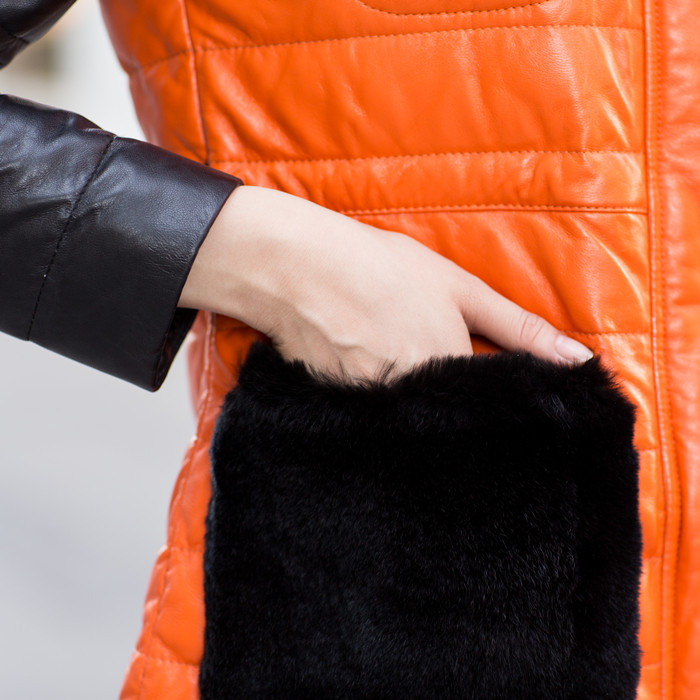 Кожаная куртка  12185 2013