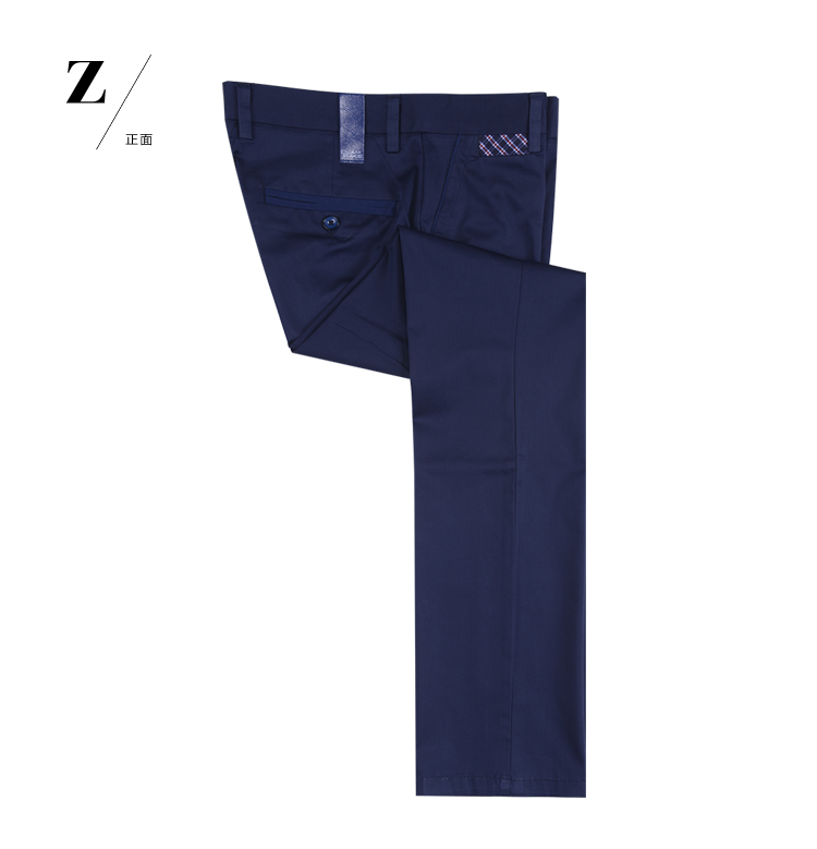 Heilan Home Sea Orchid House 2013 spring new authentic men navy blue youth fashion casual pants HLVD2B009