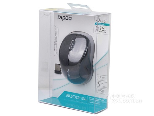 Rapoo Wireless Portable Durable Solid Long Lifespan Mouses