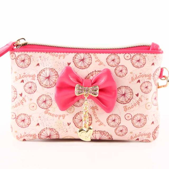 Snoopy / SNOOPY Wallets S8002-30 Pink