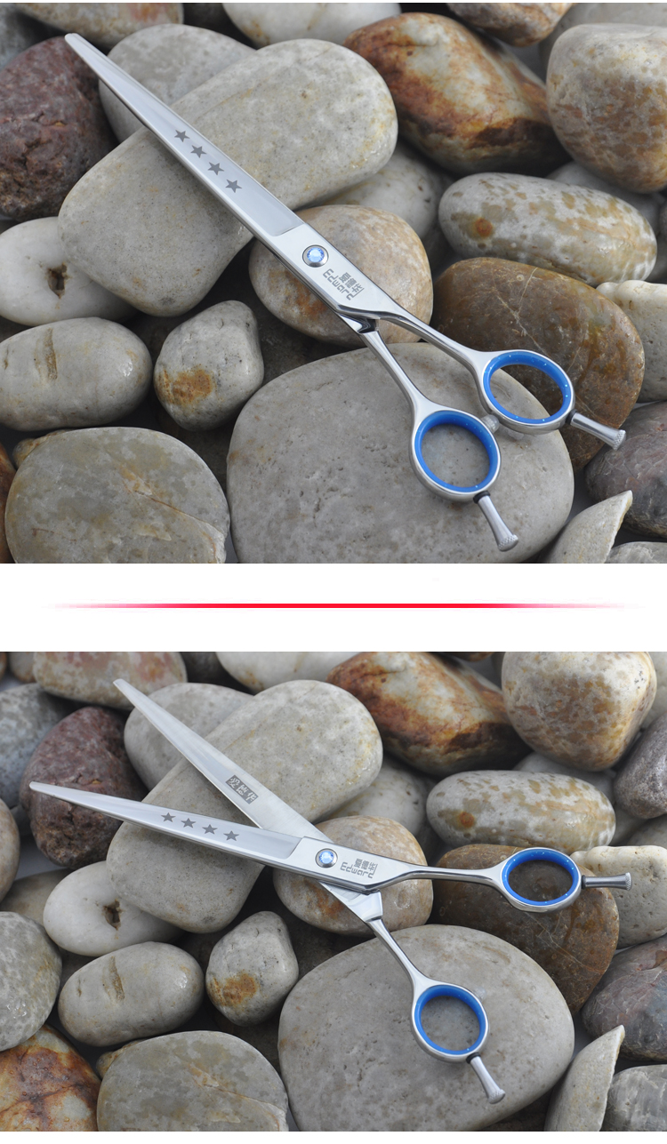 Edward Sharp Delicated 7.5 Inch Pet Hairdressing Flat Scissors