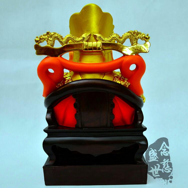 Изображения Будды, Статуи божества Тиснением Золотой слиток богатство красочных золото 12
