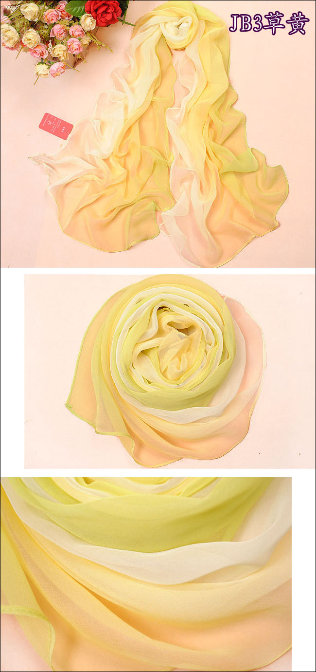 chiffon scarf