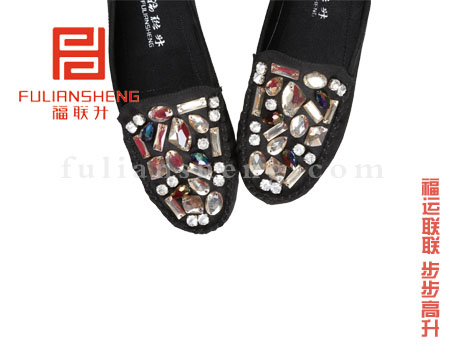 туфли Fook Len Beijing cloth shoes 321058 2013