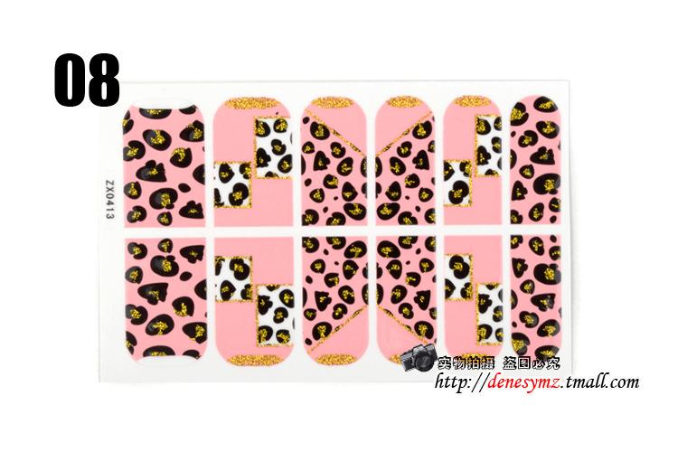 Denesy 6 Free Shipping nail supplies nail sticker nail stickers decals Nail all stickers nail polish stickers