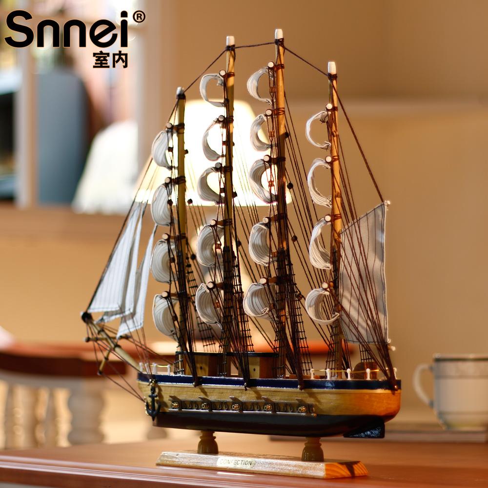 Декоративный корабль Snnei sb1231