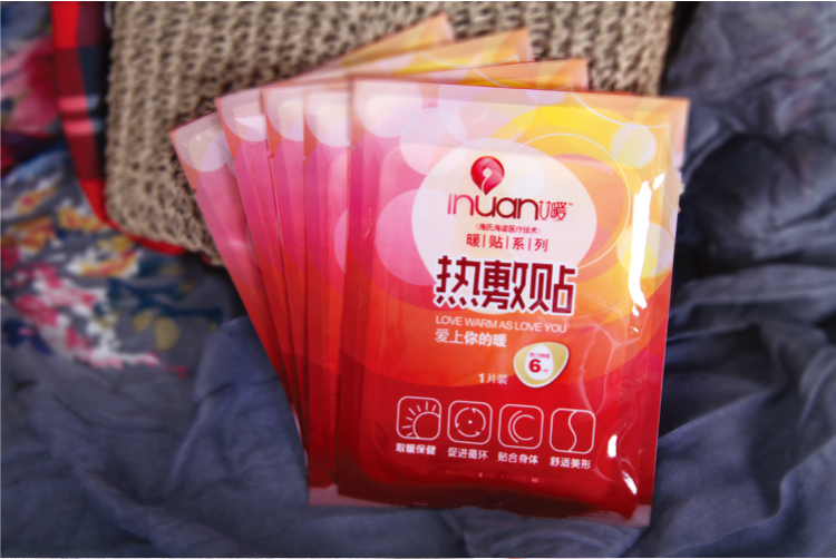 Inuan warm heat sticker big knee joints sticker warm genuine sticker thermal heat application with warm baby stickers 12PCs