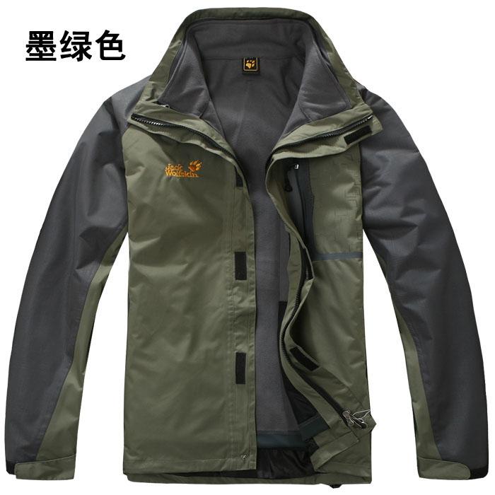 куртка Анд аутентичные мужской тройной флис двухсекционный танк дождь ветрозащитные теплой кемпинг альпинизм лыж