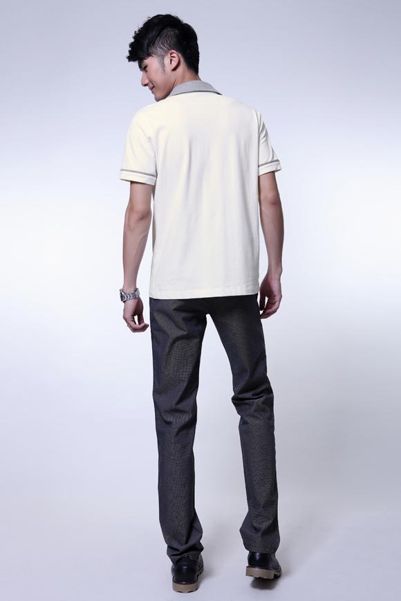 O.SA2012春夏装新款男装时尚翻领休闲短袖男士t恤MT24003