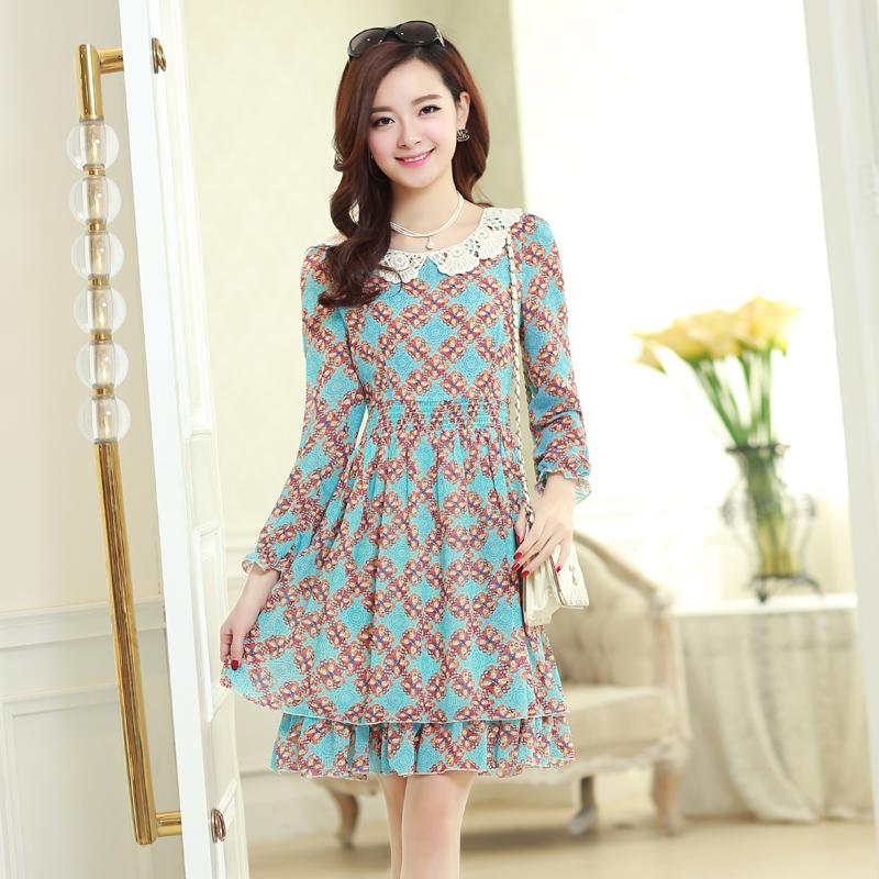 Женское платье Style [Hangzhou ladies '] 2014