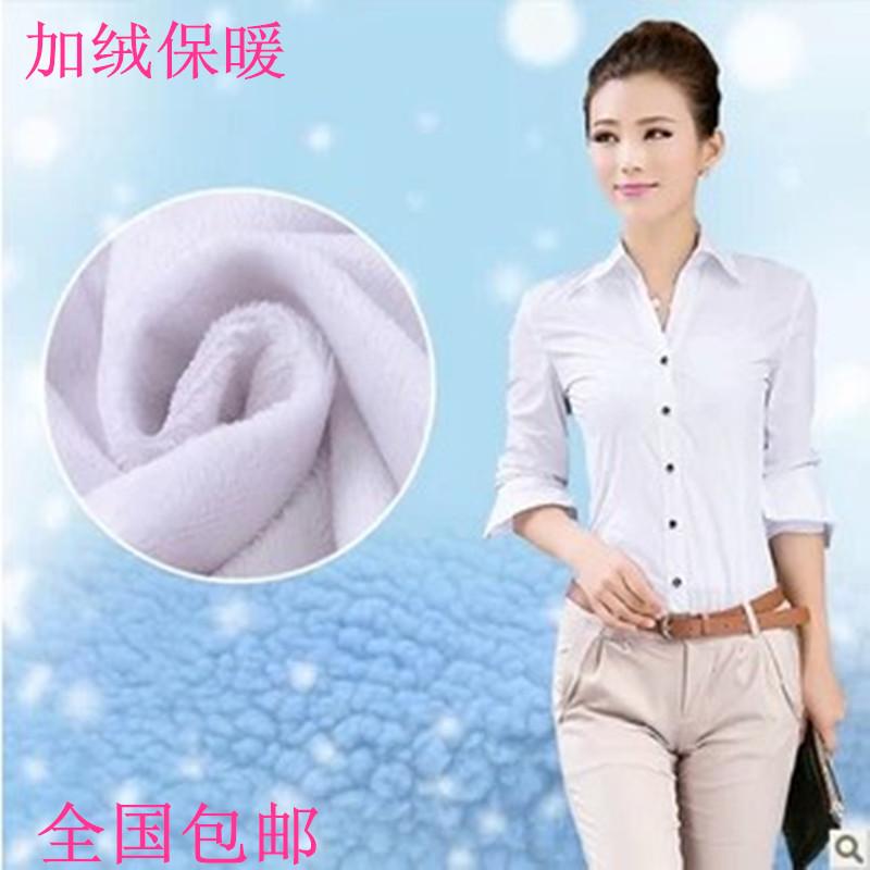 женская рубашка Зима 2013 Новые корейских женщин тонкие рубашки и бархат рубашка женская тепловой рубашка рубашка с длинным рукавом женщин