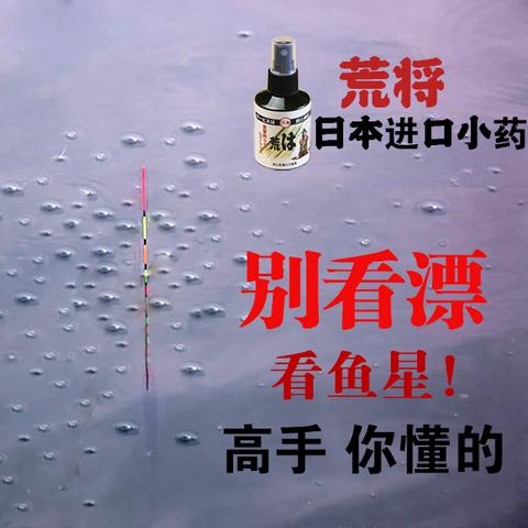日本进口垂钓鲫鱼鲤鱼钓鱼小药荒将添加剂黑坑野钓竞技鱼饵饵料