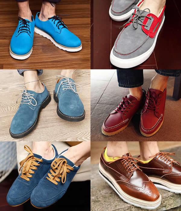 秋季鞋子男士时装搭配(3)