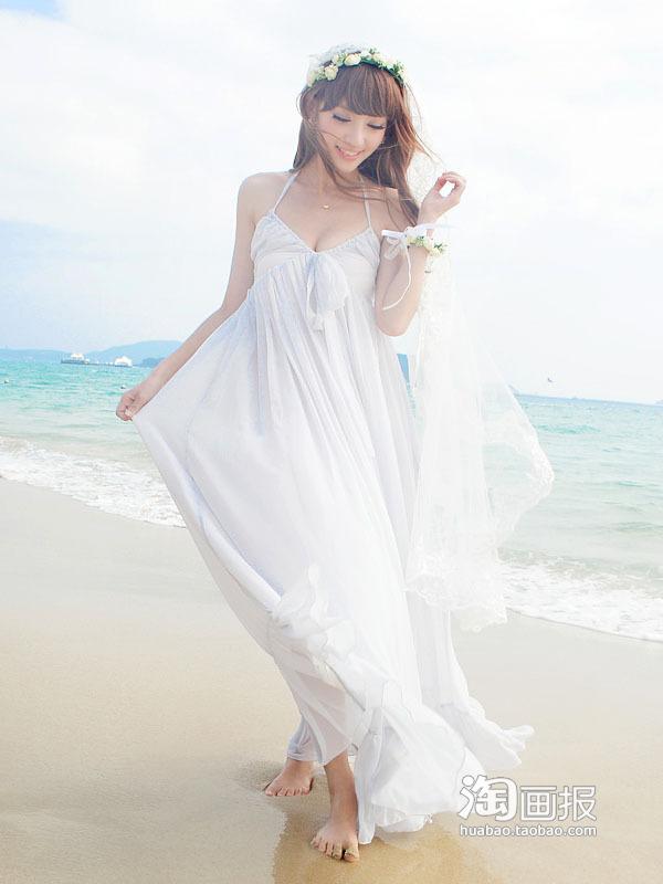 长裙服装搭配(4)