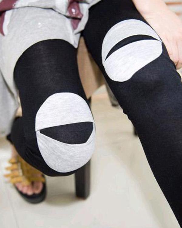 打底裤时装搭配(4)