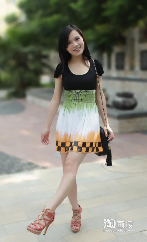 夏日连衣裙搭配图片(2)