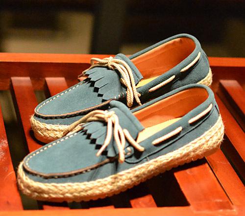 夏天鞋子男士时尚搭配图片(4)