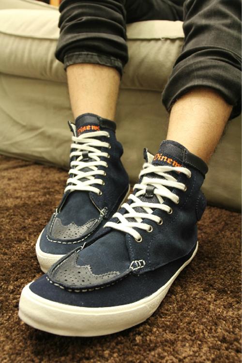 冬日鞋子男士服装搭配图片(4)