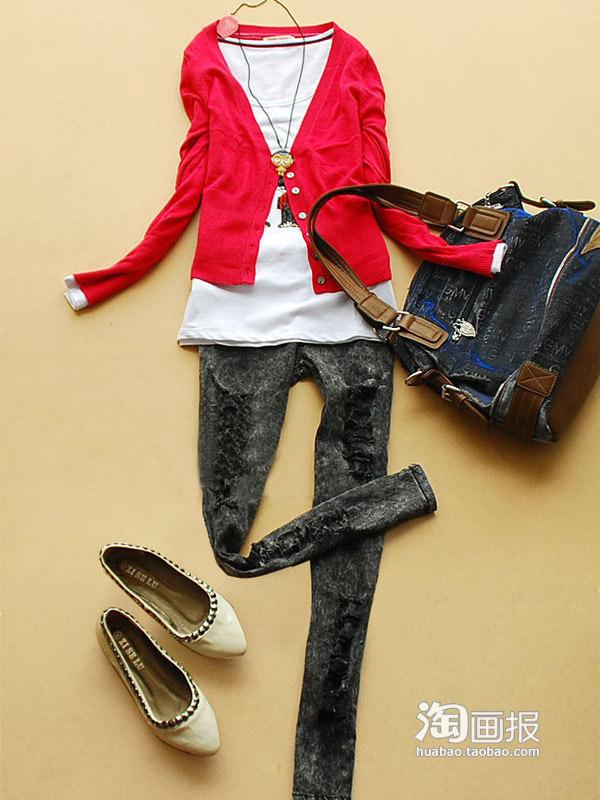 胖女人穿衣搭配秋日夏装内搭外加一件时尚新混