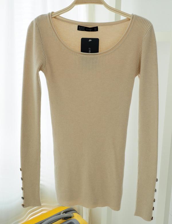 冬日毛衣穿衣搭配图片(2)