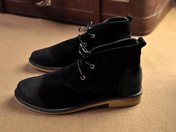 冬日鞋子男装怎么搭配