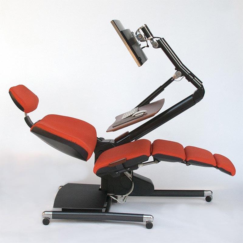 可以动 的电脑桌椅